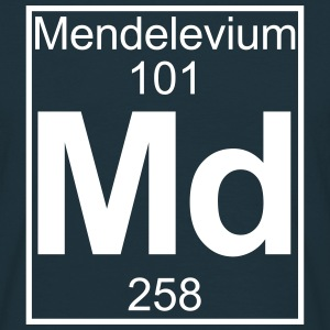 Element 101 - Md (mendelevium) - Full T-shirts - Herre-T-shirt