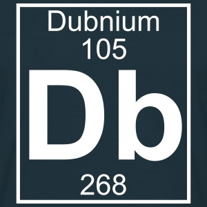 Element 105 - Db (dubnium) - Full T-shirts - Herre-T-shirt