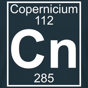 Element 112 - Cn (copernicium) - Full T-shirts - Herre-T-shirt