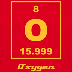 Element 008 - O (oxygen) - Small T-shirts - Herre-T-shirt