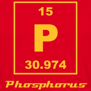 Phosphorus (P) (element 15) - Men's T-Shirt