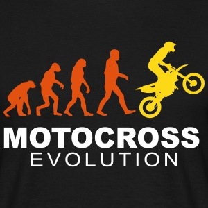 Motocross Evolution slick T-shirts - Herre-T-shirt