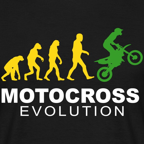 Motocross Evolution slick T-Shirts - Männer T-Shirt