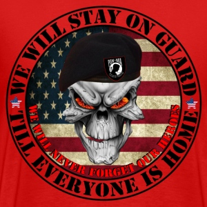 we_stay_on_guard1 T-Shirts - Männer Premium T-Shirt