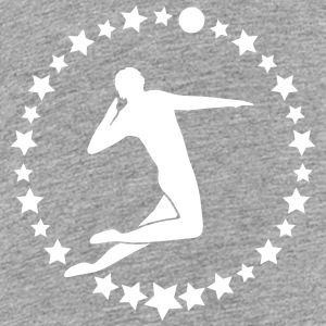 Volleyball Spieler // Volleyballspieler // Beach T - Teenager Premium T-Shirt