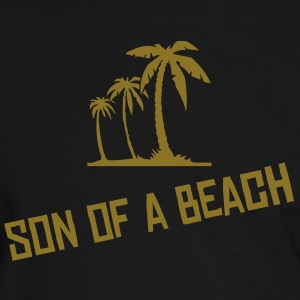 t-shirt son of a beach OR métal - T-shirt contraste Homme