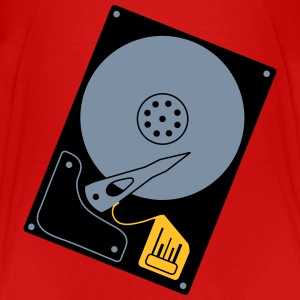 hard_disk_d1 Shirts - Teenage Premium T-Shirt