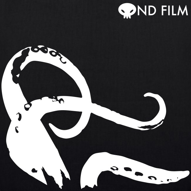 Tote tentacles and logo