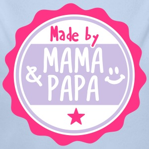 Made by Mama und Papa Pullover & Hoodies - Baby Bio-Langarm-Body
