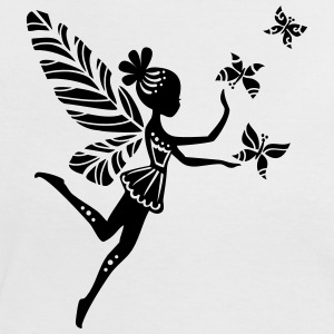 pixie, fairy, elves, magic, butterfly, summer T-Shirts - Women's Ringer T-Shirt