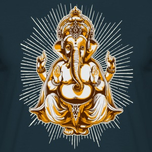 Navy shiva Men's Tees - Men's T-Shirt