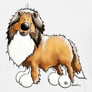 Collie - Langhaarcollie - Rough T-Shirts - Männer T-Shirt