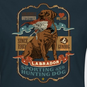 labrador_and_pheasant_c T-Shirts - Women's T-Shirt