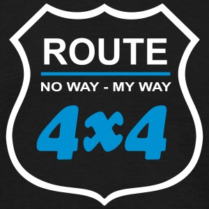 Route66 4x4 - Men's T-Shirt