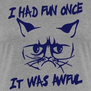 I had fun once, it was awful T-Shirts - Women's Premium T-Shirt