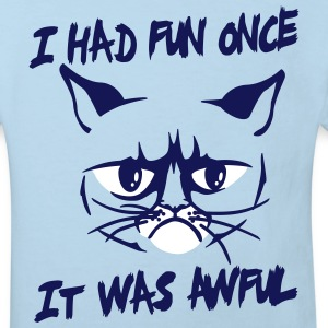 I had fun once, it was awful Shirts - Kinderen Bio-T-shirt