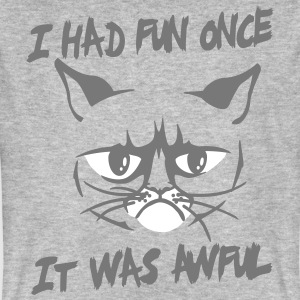 I had fun once, it was awful T-Shirts - Men's Organic T-shirt