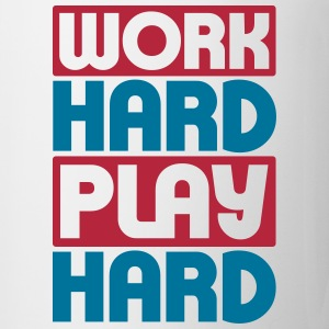 Work Hard Play Hard Flessen & bekers - Mok
