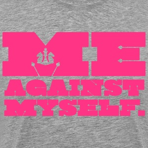 Me Against Myself T-Shirts - Männer Premium T-Shirt