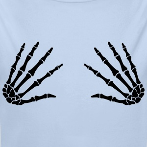 grab skull hands - boobgrabber Sweats - Body bébé bio manches longues