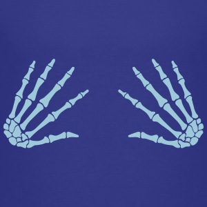 grab skull hands - boobgrabber T-Shirts - Teenager Premium T-Shirt