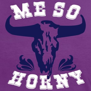 Me so horny T-shirts - Vrouwen contrastshirt