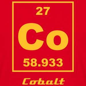 Cobalt (Co) (element 27) - Men's T-Shirt
