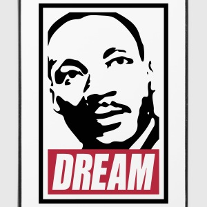 Obey x Dream MLK 2c_blanc Handy & Tablet Hüllen - iPhone 4/4s Hard Case