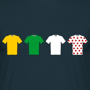 Cycling T-shirt with Tour de France Jerseys - Men's T-Shirt