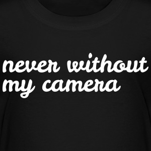 never without my camera jamais sans mon appareil photo Tee shirts - T-shirt Premium Enfant