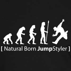 evolution_born_jumpstyler T-Shirts - Männer Kontrast-T-Shirt