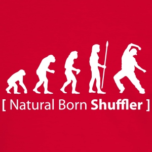 evolution_born_shuffler T-Shirts - Männer Kontrast-T-Shirt