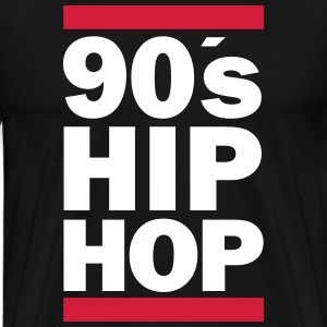 90s Hip Hop T-Shirts - Men's Premium T-Shirt