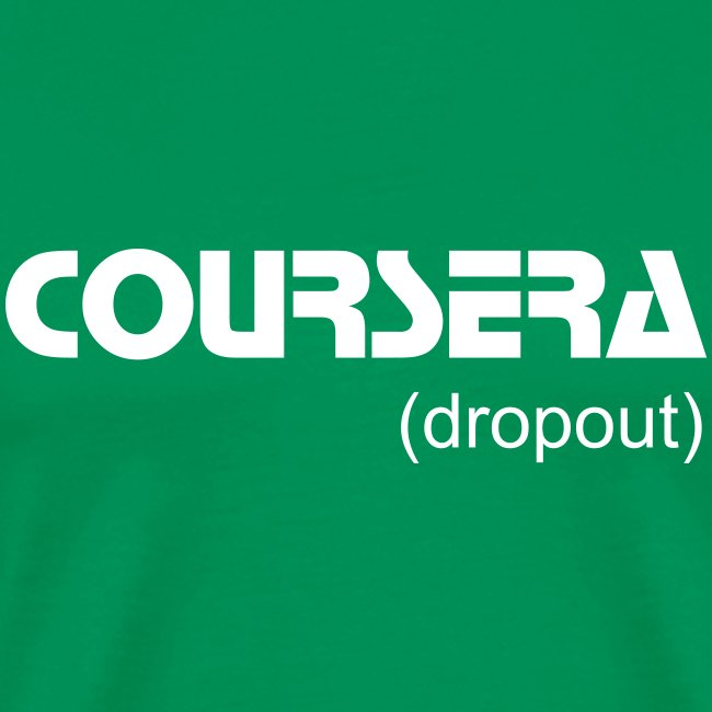 coursera dropout