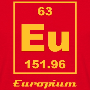Europium (Eu) (element 63) - Men's T-Shirt