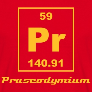 Element 59 - Pr (praseodymium) - Small T-Shirts - Männer T-Shirt