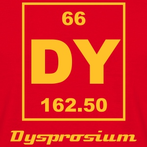 Element 66 - Dy (dysprosium) - Small Tee shirts - T-shirt Homme