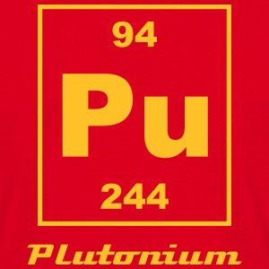 Element 94 - pu (plutonium) - Small T-shirts - Herre-T-shirt