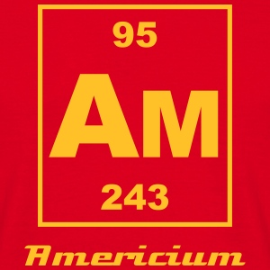 Element 95 - am (americium) - Small T-Shirts - Men's T-Shirt