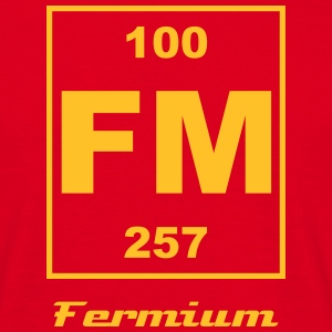 Fermium (Fm) (element 100) - Men's T-Shirt