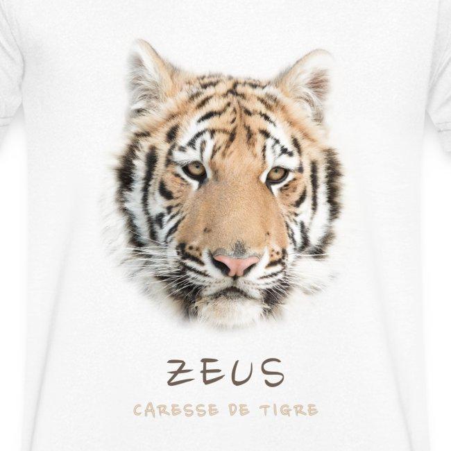 T-Shirt Homme V portrait Zeus