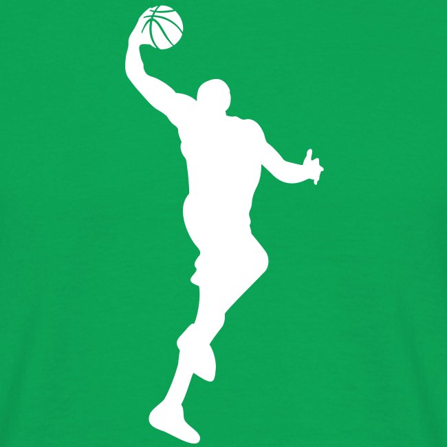 "Men's ""Basketball #4"" T-Shirt"