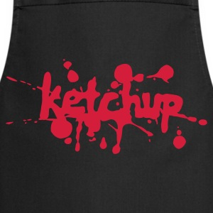 Black Ketchup  Aprons - Cooking Apron