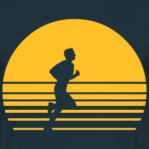 sunset running T-Shirts - Männer T-Shirt