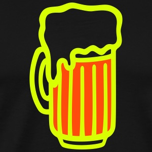 Pint - Beer glass T-Shirts - Men's Premium T-Shirt