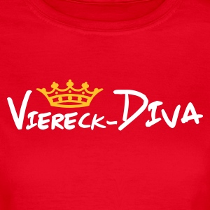 Stereo rot viereck--krone T-Shirts - Frauen T-Shirt