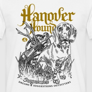 hanover_hound_on_light T-Shirts - Men's T-Shirt