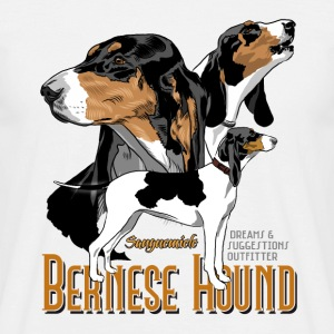 bernese_hound T-Shirts - Men's T-Shirt