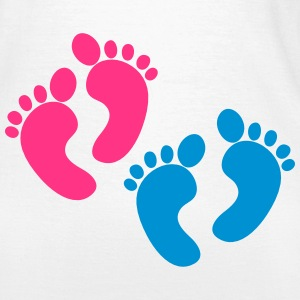 twins foot two sets of feet T-Shirts - Women's T-Shirt