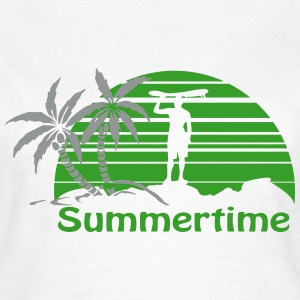Summertime T-Shirts - Frauen T-Shirt